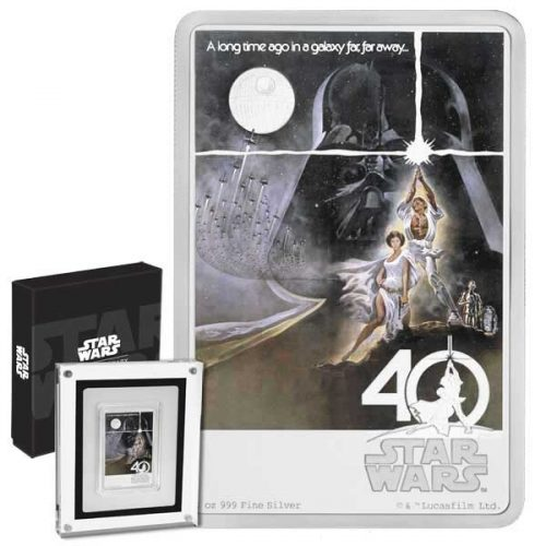 2017 Star Wars Poster Collection 40th Anniversary 1oz Silver Coin