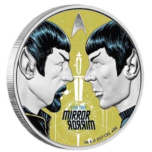 Star Trek The Original Series - Mirror, Mirror 2017 1oz Silver Proof Coin