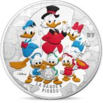 2017 Scrooge McDuck and Donald Duck 50€ 5oz Silver Coin