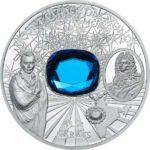 The Hope Diamond 2oz Silver Proof