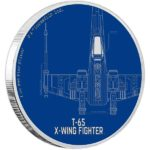 2017 Star Wars: T-65X-Wing Fighter 1oz Silver Proof Coin