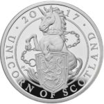 The Queen's Beasts - The Unicorn of Scotland 2017 UK 1oz Silver Proof Coin