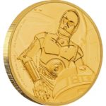 2017 Star Wars Classic C-3PO 1/4oz Gold