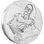 2017 Star Wars Classic C-3PO 1oz Silver