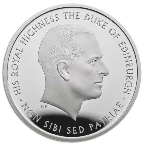 Prince Philip Celebrating a life of service 2017 UK £5 Silver Proof Coin