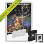 2017 Star Wars Poster Collection - The Empire Strikes Back 1oz Silver Coin