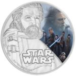 2017 Star Wars: The Last Jedi - Luke Skywalker 1oz Silver Coin