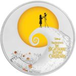 Tim Burton's The Nightmare Before Christmas 2017 Niue 1oz Silver