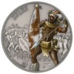 Warriors of History Zulus 1oz Antiqued Silver
