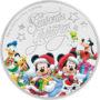 1/2oz Disney Silver Coin Season's Greetings 2017