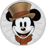 Mickey Through the Ages: Mickey's Christmas Carol 1oz Silver