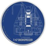 2017 Star Wars: T-47 Snowspeeder Niue 1oz Silver Proof
