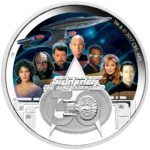 Star Trek: The Next Generation Crew 30th Anniversary 2017 2oz Silver Proof