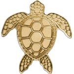 CIT 2017 Sea Turtle Palau 0.5g Gold