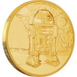 2017 Star Wars Classic R2-D2 1/4oz Gold