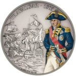 Battles that Changed History: Trafalgar 2017 Niue 1oz Silver