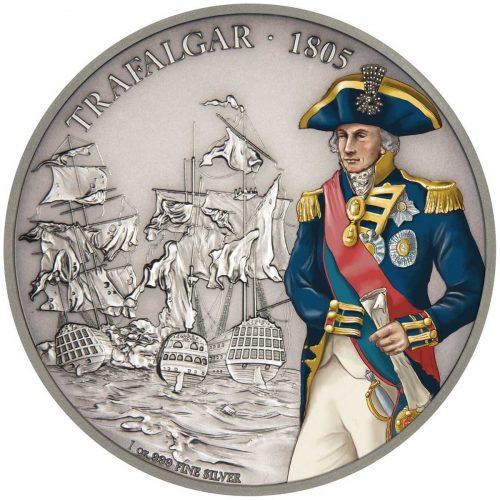 Battles that Changed History: Trafalgar 2017 Niue 1oz Silver