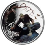 2017 Frazetta Monsters: Beyond The Grave 1oz Silver