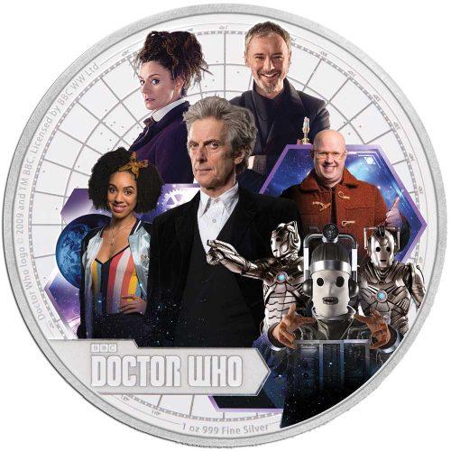 Doctor Who 2017 Season 10 1oz Proof Silver Coin