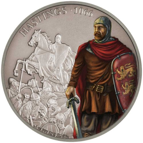Battles that Changed History: Hastings 2018 Niue 1oz Silver