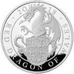 The Queen's Beasts - The Red Dragon of Wales 2018 UK 5oz Silver Proof Coin