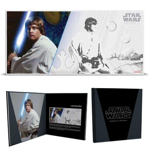 2018 Star Wars: A New Hope - Luke Skywalker 5g Silver Note