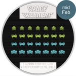 Space Invaders 40th Anniversary 2018 Niue proof silver