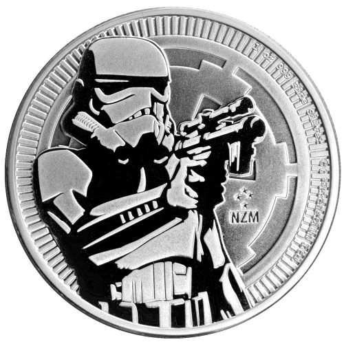 2017 Star Wars Stormtrooper 1oz Silver Bullion