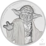Star Wars Yoda 2018 Niue High Relief 2oz Silver