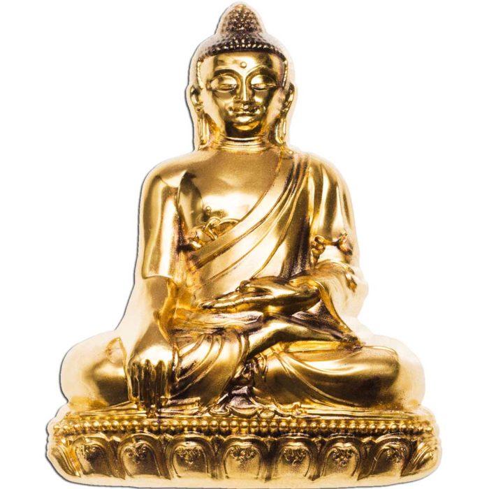 CIT 2018 Shakyamuni Buddha 3oz Gilded Silver Coin