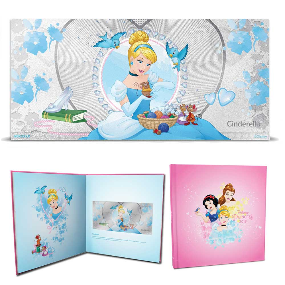 2018 Disney Princess: Cinderella 5g Silver Note