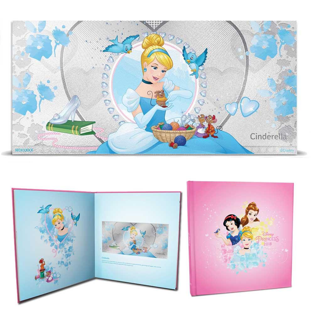 2018 Disney Princess: Cinderella 5g Silver Note