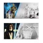 2018 Star Wars: A New Hope - Obi-Wan Kenobi & R2-D2 with C-3PO 5g Silver Notes