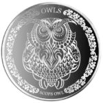Scops Owl - The Wonder of Owls 2018 1oz Silver Proof Coin