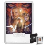 2018 Star Wars Poster Collection - The Phantom Menace 1oz Silver Coin