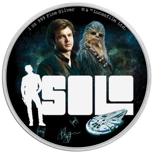 2018 Star Wars: Solo 1oz Silver Proof Coin