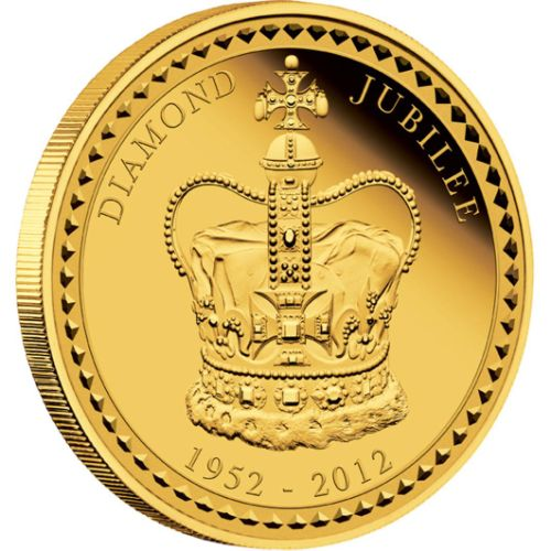 Her Majesty Queen Elizabeth II - Diamond Jubilee 2012 1 Kilo Gold Proof Coin