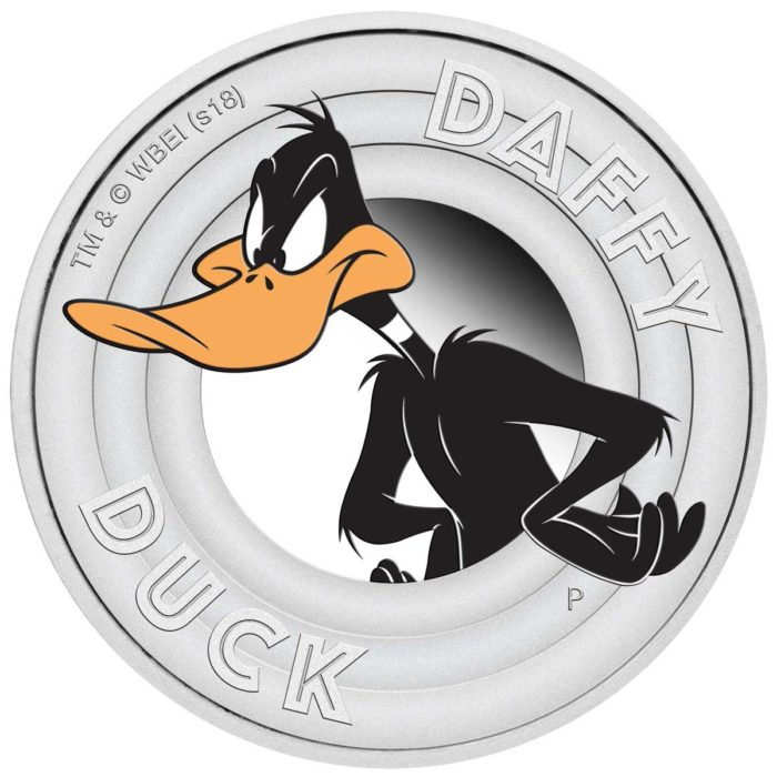 Looney Tunes - DAFFY DUCK 2018 1/2oz Silver Proof Coin