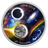 Royal Astronomical Society of Canada 2018 1oz Silver Coin