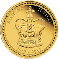 Her Majesty Queen Elizabeth II - Diamond Jubilee 2012 1 Kilo Gold Proof