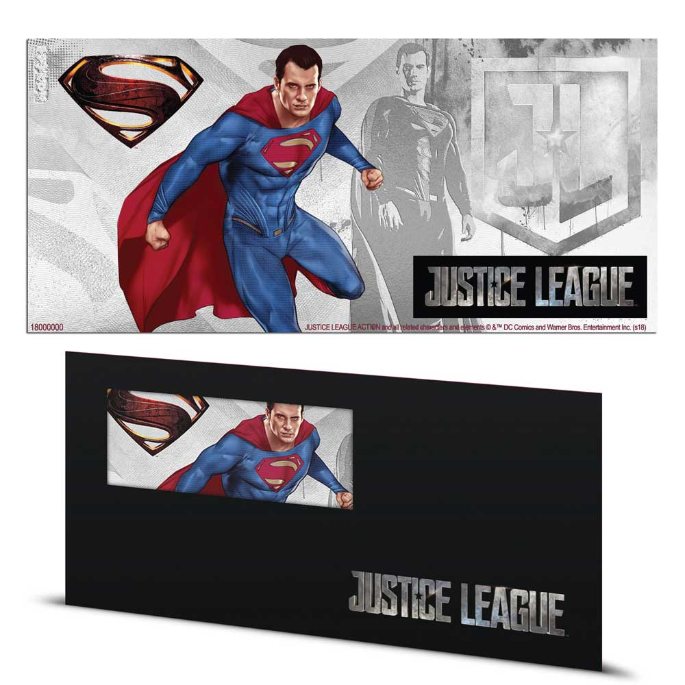 2018 Justice League: Superman™ 5g Silver Note