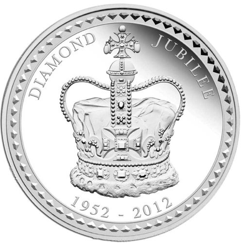 Her Majesty Queen Elizabeth II - Diamond Jubilee 2012 1 Kilo Silver Proof