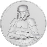 STAR WARS STORMTROOPER 2018 Niue 2oz ultra high relief proof silver coin