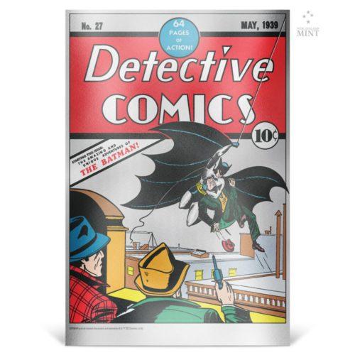 DC Comics – Detective Comics #27 2018 35g silver foil