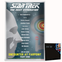 STAR TREK: THE NEXT GENERATION - ENCOUNTER AT FARPOINT 2018 Niue 5g silver note