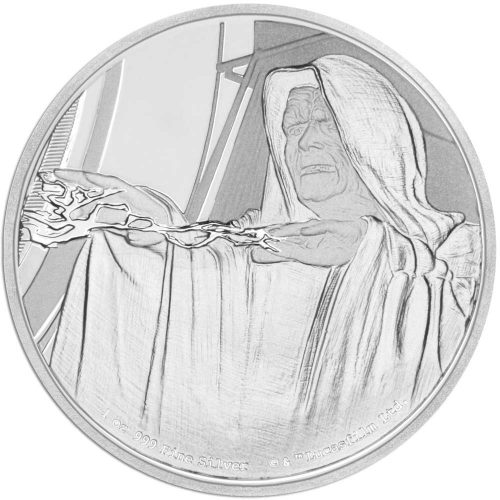 STAR WARS EMPEROR PALPATINE 2018 Niue 1oz proof silver coin
