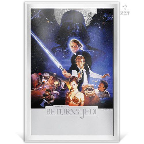 STAR WARS: Return of the Jedi 2018 35g silver foil