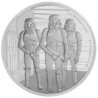 STAR WARS CLASSIC: STORMTROOPER 2019 Niue 1oz proof silver
