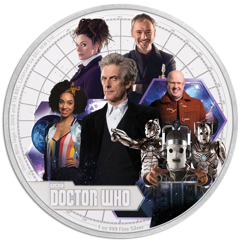 DOCTOR WHO SEASON 10 2017 Niue 1oz silver coin
