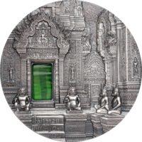 TIFFANY ART KHMER ANGKOR 2019 Palau 2oz silver coin